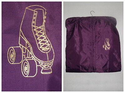Kürkleid Kleiderhülle Kleidersack Schlittschuhe Rollschuhe STRASS