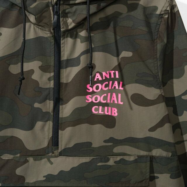 9930b559706a Anti Social Social Club EZ Jacket Anorak ASSC SMALL Deadstock Authentic NIB