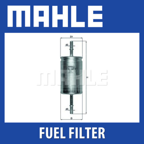 Fits Ford Focus Volvo C30 S40 Mahle Fuel Filter KL559 Genuine Part