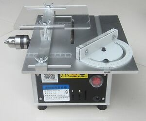 Mini multifunctional table saw 110v 220v ebay for 110v table saw