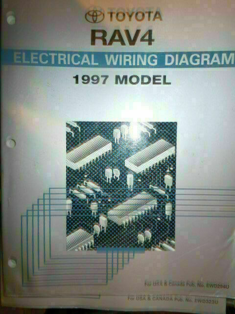 1998 Toyota Rav4 Electrical Wiring Diagram Service Manual