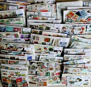 WORLDWIDE Superb collection made up of 15,000 DIFFERENT Stamps, 90+ countries