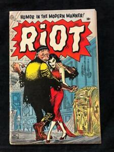 Riot-3-Atlas-Comics-1954-Good