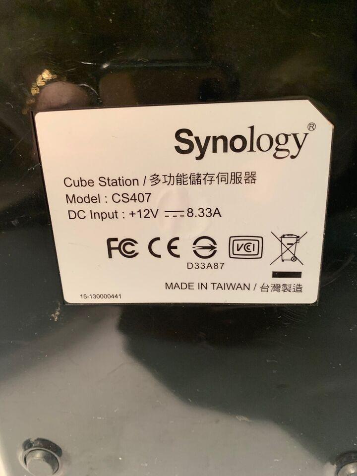 Synology, ekstern, 4000 GB