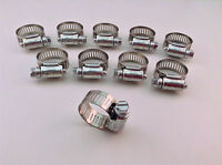 Ideal Box Of 10 Tridon Hose Clamps Size 10 / 1/2/12.70mm 13-27mm 1/2 -1 1/16