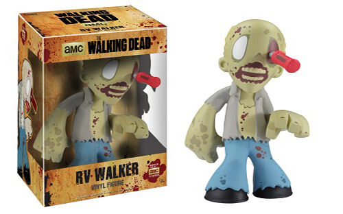 Funko Vinyl 7  The Walking Dead Figures Set of 3 Daryl Dixon, Prison & RV Zombie