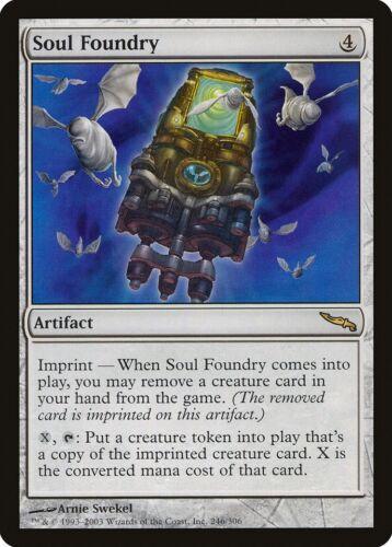 Soul Foundry Mirrodin HEAVILY PLD Artifact Rare MAGIC GATHERING CARD ABUGames