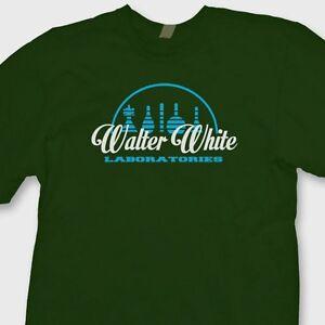 cef3038dd Walter White Laboratories Breaking Bad T-Shirt Funny Heisenberg Tee ...