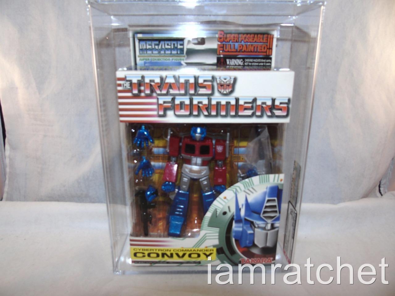 Transformers 2002 Action Figure Authority 85 Mega SCF convoi Metalic Menthe en Boîte Scellée