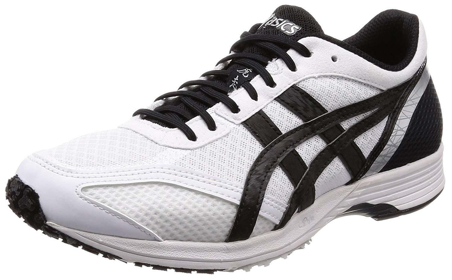ASICS running shoes shoes shoes TARTHERZEAL TS 4-Wide White Black 96af8c