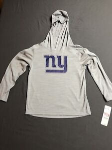 OuterStuff NFL Youth Boys Team Color Fleece Hoodie New York Giants