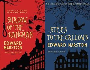 Edward-Marston-2-Livre-Ensemble-Bow-Street-Rivals-Tout-Neuf-Envoi-GB