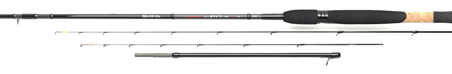 DAIWA Air AGS Feeder 3.96 12 FT (ca. 3.66 m)/13 FT (ca. 3.96 Feeder m) NUOVA Rod Pesca Grossa quivertip Rod a24b0c