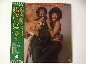 JIMMY-WITHERSPOON-LOVE-IS-A-FIVE-LETTER-WORD-SPOON-1975-JAPAN-w-OBI-NM