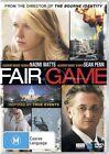 Fair Game (DVD, 2011)