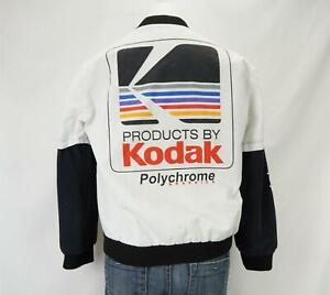 Vintage Kodak Film Women's Jacket White & Black