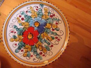 Sammelteller - Wandteller - aus Italien (?) - ca. 36-37cm Durchmesser - handmade - Aschenhütte, Deutschland - Sammelteller - Wandteller - aus Italien (?) - ca. 36-37cm Durchmesser - handmade - Aschenhütte, Deutschland