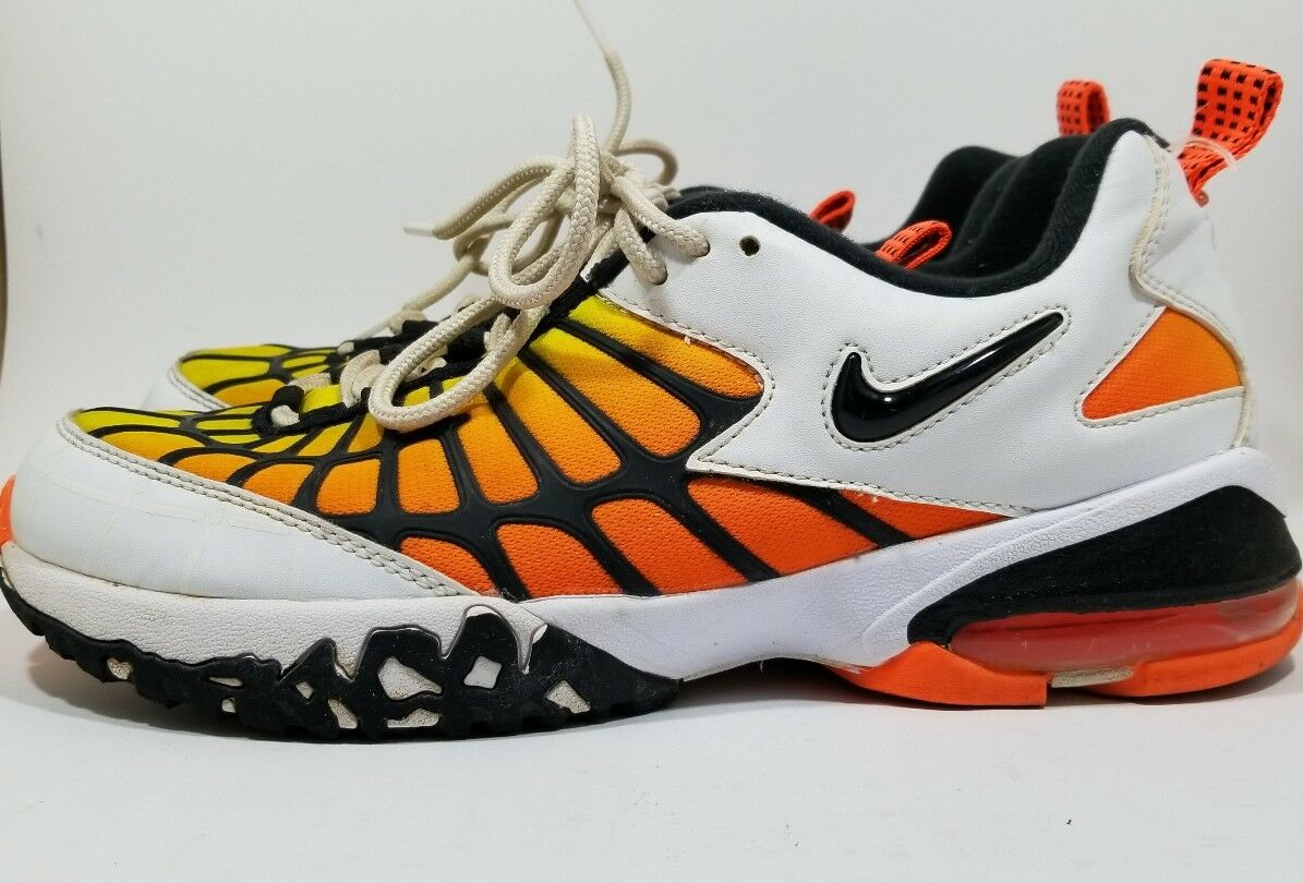 quality design 07c7e 51e9b Nike Nike Nike Mens Air Max 120 OG Hyper orange Yellow ...