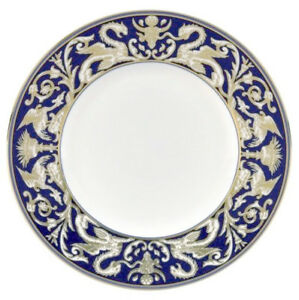 """Wedgwood Celestial Gold 9/"""" Salad Accent Luncheon Plate NEW"""