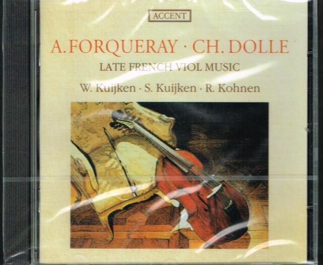 Forqueray; Dollé / Musik Für Viola / Berthold E Wieland Kuijken, Kohnen - CD