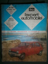 Renault 5 R5 L R1220 et TL R1222 : revue technique EA 81