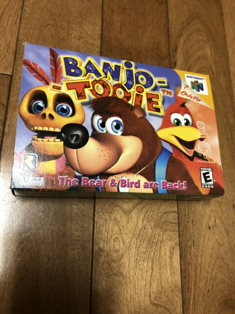 Banjo Tooie N64 CIB Mint Condition