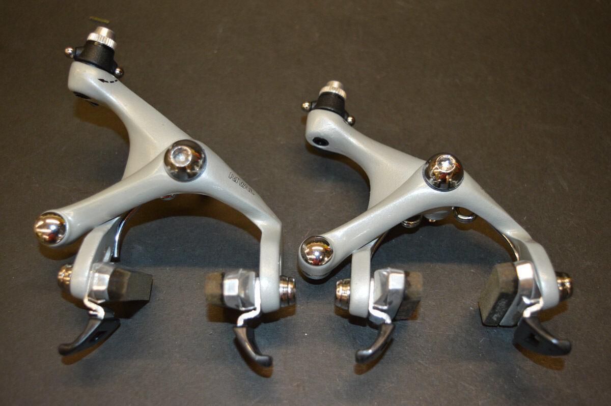 Sachs Modolo Rival brake caliper set short 40mm - 50mm light grey aluminium NOS