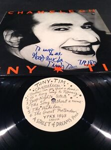 TINY-TIM-CHAMELEON-LP-SIGNED-BY-HAND-AUSTRALIAN-12-034-RECORD-ALBUM-MARTIN-SHARP