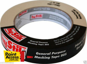 Hystik-General-Purpose-Masking-Tape-Rolls-24mm-x-55m-BULK-DISCOUNTS