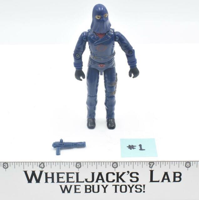 Cobra Commander #1 Enemy Leader V2 100% Complete GI Joe 1984 Hasbro Figure