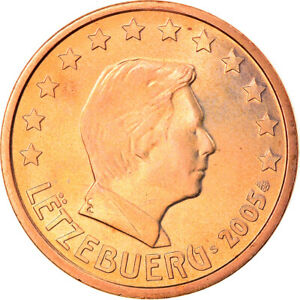 [#824838] Luxembourg, 5 Euro Cent, 2005, Utrecht, FDC, Copper Plated Steel