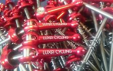 Titanium Ti Skewers 100mm/130mm Quick Release 48g/pair Red 1st Class Delivery
