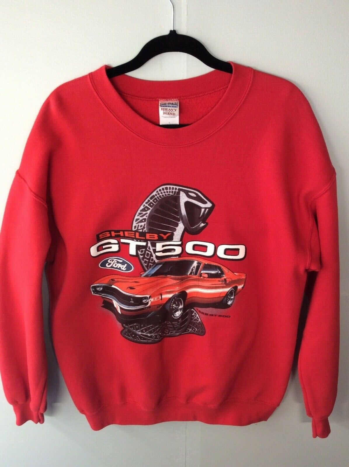Shelby GT500 Ford Performance Sweatshirt Ford Mustang Cobra Racing Sweater
