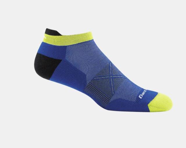 Darn Tough Coolmax Vertex No Show Tab Ultra-Light Sock Men/'s Marine Large New