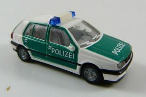 VW-Golf-III-policia-Wiking-1-87-h0-sin-OVP-mb18-a3
