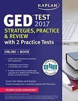 Ged Test 2017 Strategies, Practice & Review With 2 Practice Tests: Online...