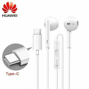 Genuino-Huawei-CM33-Estereo-Manos-Libres-Auriculares-P20-P30-PRO-Lite-Blanco-Mate-20-P