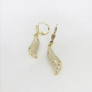 Ohrringe-aus-14-kt-Gold-mit-0-20-ct-Diamanten