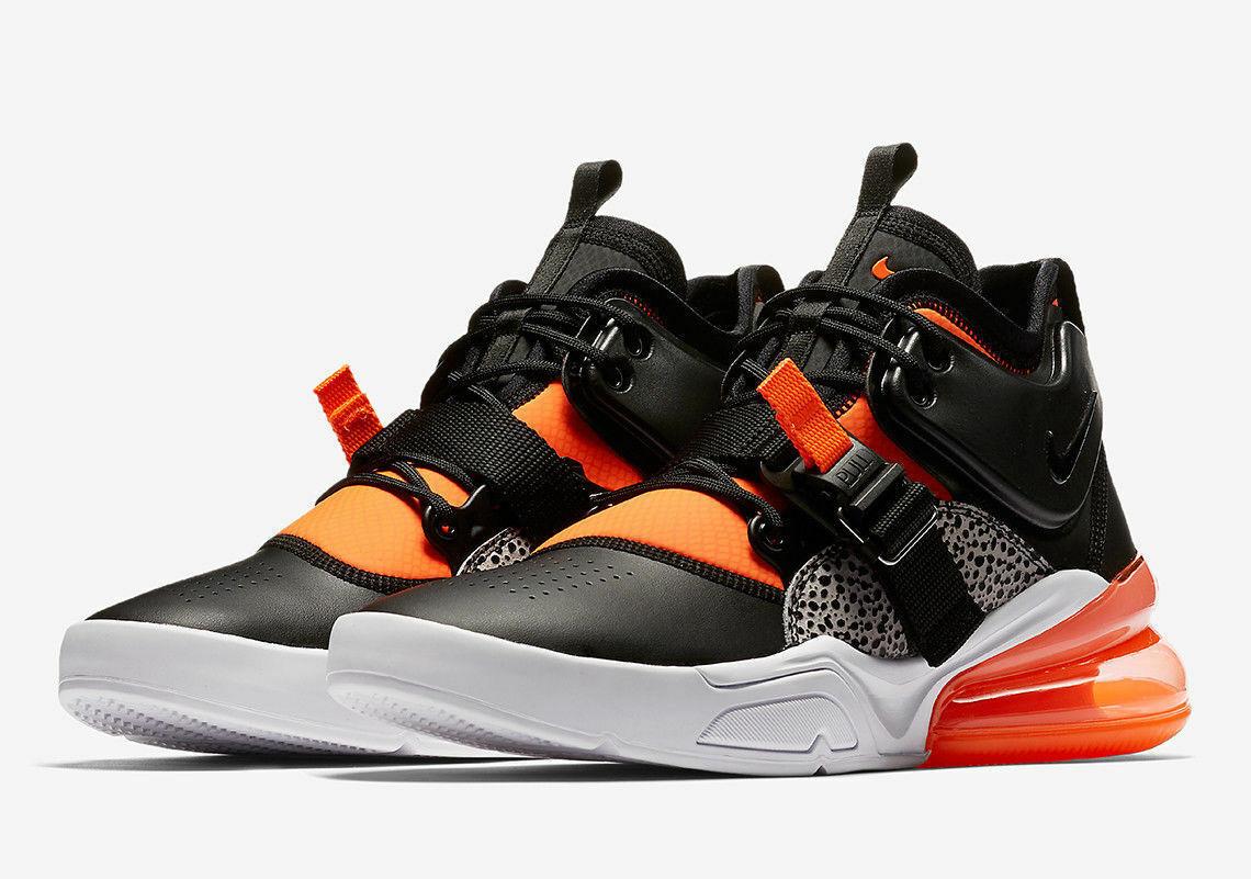 160 nouveau in Box nouveau Hommes Nike Air Force 270 AH6772-004 Chaussures AF