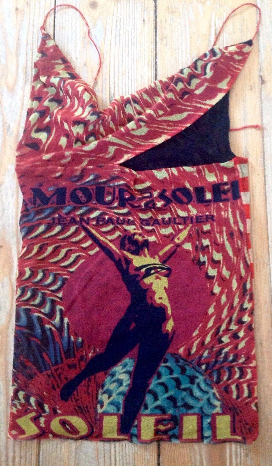 Jean Paul Gaultier Top Bunt Mesh  Gr.S wie NEU