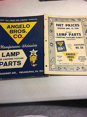 Vintage Angelo Brothers Brod Lamp