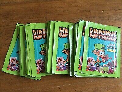 Vignettes Panini ~ Kid Paddle 2011  ~ 25 Pochettes Stickers