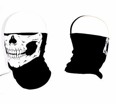 Durable Face Mask Bandana Skeleton Face Shield Motorcycle 12pcs Skull Face Mask Tube Mask Seamless