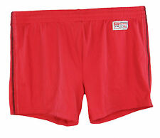 DOLCE & GABBANA Mens Red / Black Detailed Swimwear Shorts RMB033 Sz L/5 NWT $315
