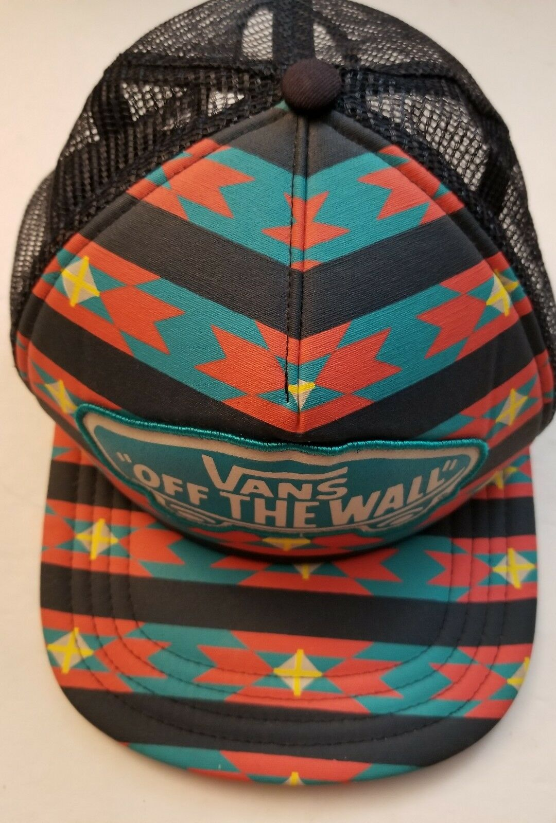 Vans Off Style the Wall Native Navajo Style Off Snapback Hat Cap NWOT d0478c