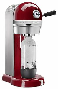 REFURB KitchenAid SodaStream Die Cast Metal Sparkling Water Soda Beverage Maker