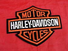 "Harley Davidson Orange Phoenix Motorcycle Biker Patch 5 3//4/"" x 5 3//4/"" EMB347382"