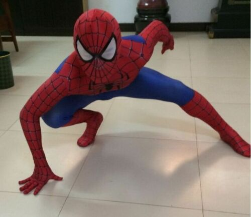 Spider-man Cosplay Jumpsuit Costume Kid Boys Men/'s Spider Superhero Suit Costume