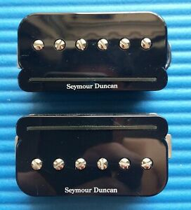 (CLEARANCE) SEYMOUR DUNCAN SHPR-1 P-RAILS PICKUP SET