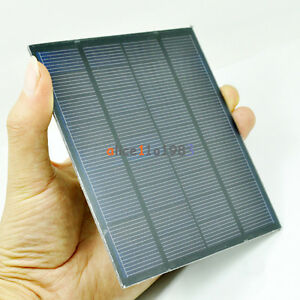 Mini 9v 1 5w Solar Collector Solar Power Panel Diy For Cell Phone Charger Ebay